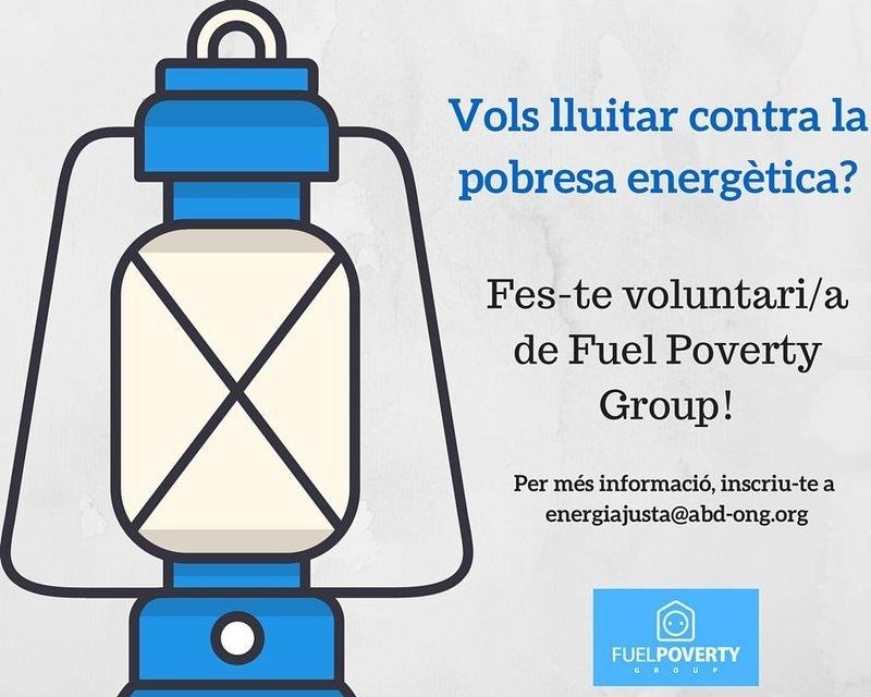Forma't com a voluntària del Fuel Poverty i uneix-te a la lluita contra la pobresa energètica