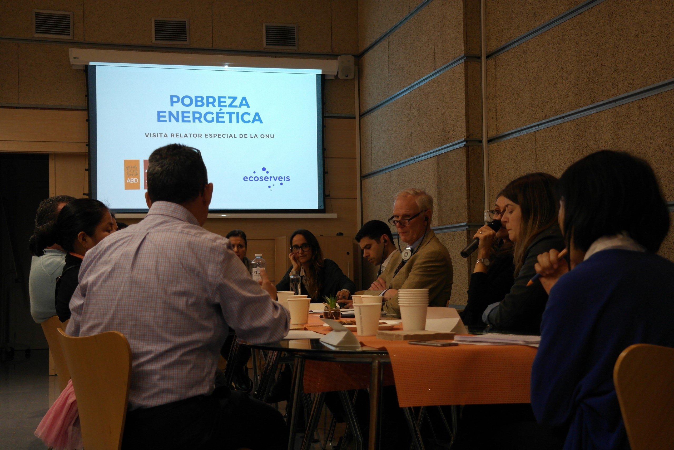 La Pobresa Energètica a Espanya i l'Informe de l'Relator de l'ONU